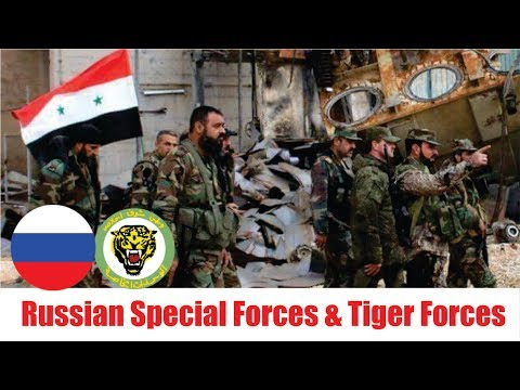 [ Syrian ] [ Deir Ezzor ]  Russian Special Forces , Syrian Army's elite Tiger Forces side-by-side