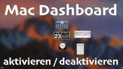 Mac: Dashboard aktivieren / deaktivieren - so gehts