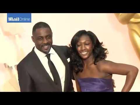 Idris Elba and daughter Isan at the 2015...