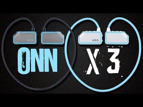 ONN X3 - обзор спортивного Bluetooth MP3 плеера из Китая \ Плеер для спорта из Китая