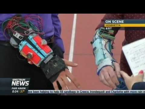 RIT on TV: Imagine RIT Preview - Tremor Mitigation Wearable Device