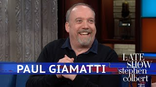 Paul Giamatti Does His Own S&M Stunts