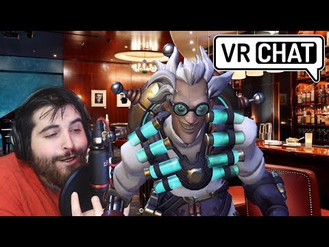 Voice Actor Plays Vr Chat