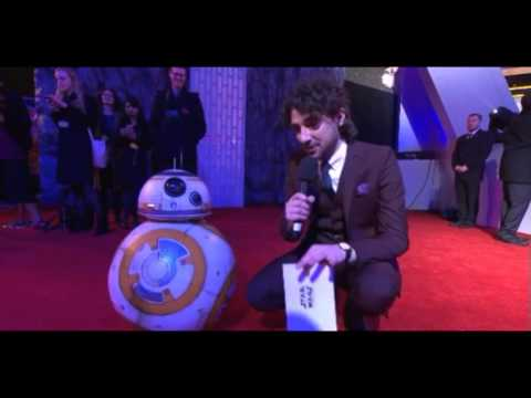 BB-8 Interview - Star Wars The Force Awakens European Premiere Red Carpet
