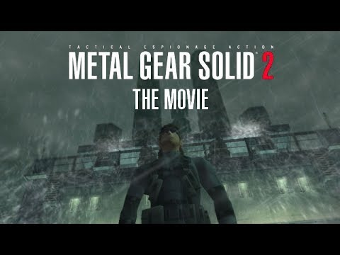 Metal Gear Solid 2 - The Movie [HD] Full Story