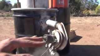 Wood Gas Truck, Part 2