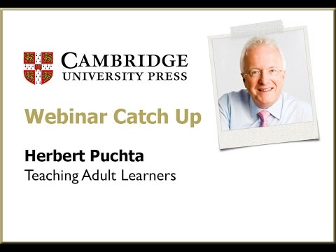 Teaching Adult Learners with Herbert Puchta