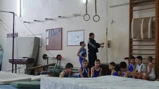 Дима 3 взрослый по спортивной  гимнастике (кольца)