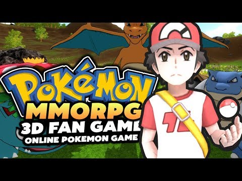 Pokemon MMORPG 3D - Pokemon Online Game!? (MMORPG WITH CUSTOM SERVERS!?)