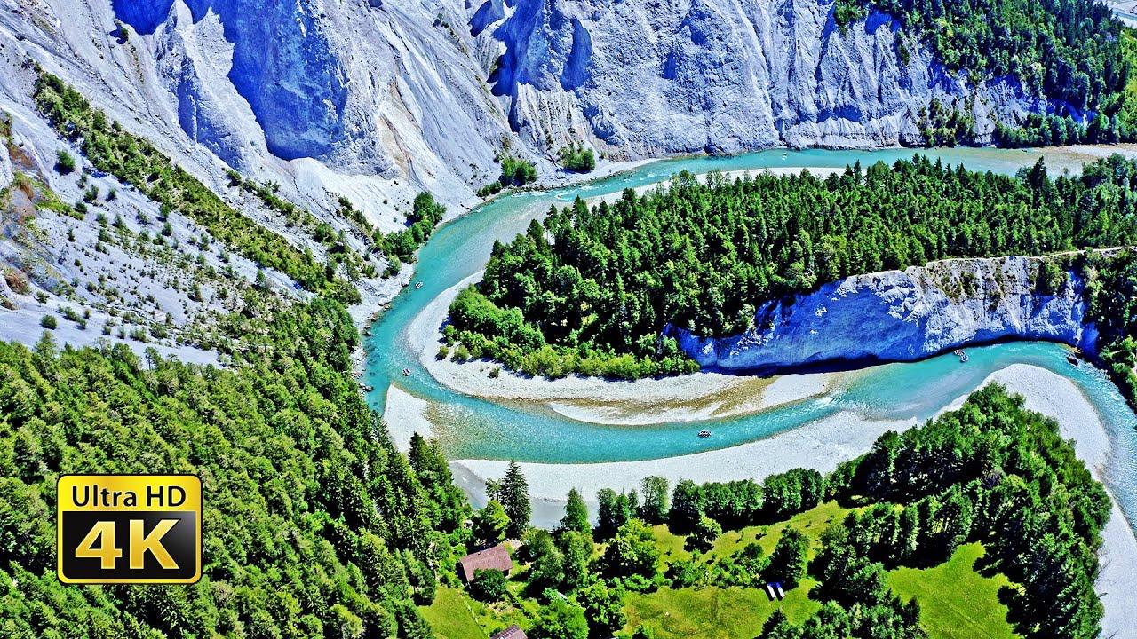 4K Splendors of Switzerland, 4K Video Ultra HD With Relaxing Music