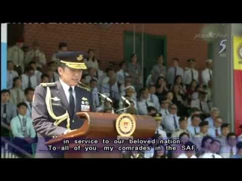 SAF chief Ng Chee Meng announces his intention to enter politics - 18Aug2015