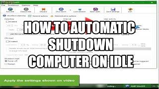 How To Setup WinOff Software   Automatic Shutdown Computer on IDLE   PisonetBuildersHub