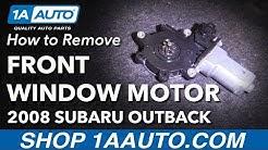 How To Replace Window Motor 04-09 Subaru Outback