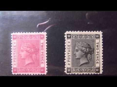 stamps, queen victoria essays
