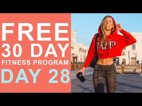 Day 28   Free 30 Day Fitness Challenge   Core Stability & Mobility