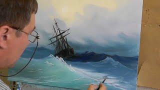 Видео урок по живописи Дмитрия Муравьева