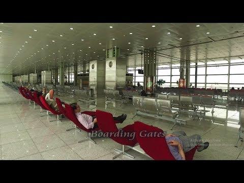 Tehran Airport IKA 2017 Departure Hall (HD) - DJI Osmo
