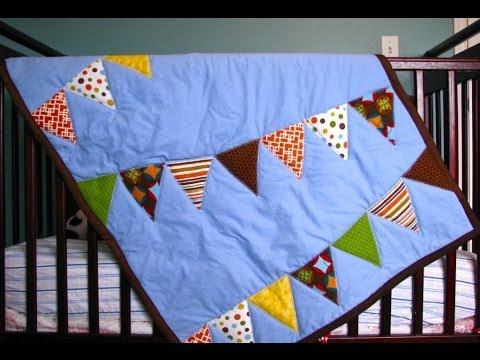Bye Baby Bunting Quilt Tutorial - YouTube : make baby quilt beginners - Adamdwight.com