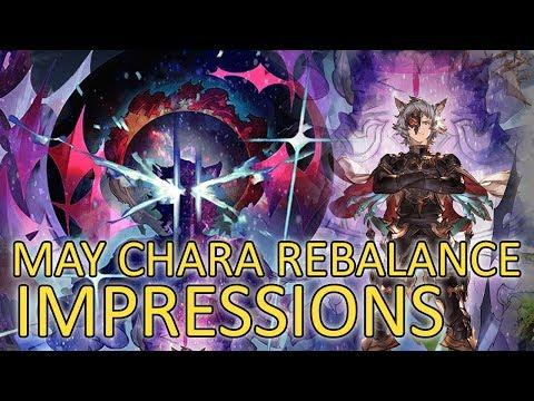 【Granblue Fantasy】MAY CHARACTER REBALANCE IMPRESSIONS