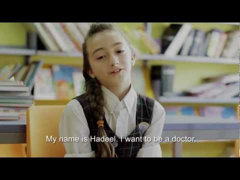 Children from Palestine share their dreams.