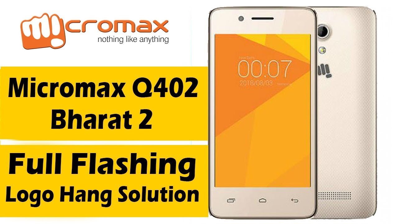 Micromax Q402 Full Flashing