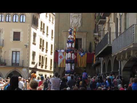 castellers - human tower, Catalonia (2013)
