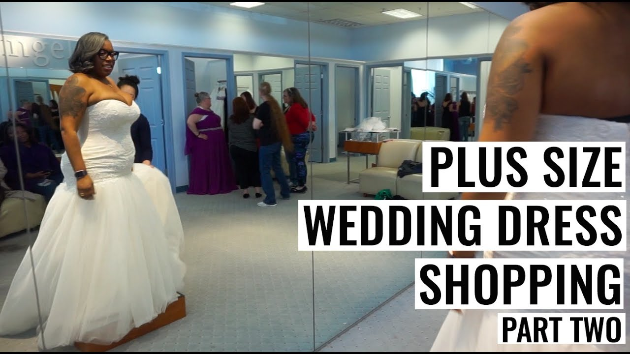 Plus Size Wedding Dress Shopping at Alfred Angelo - YouTube
