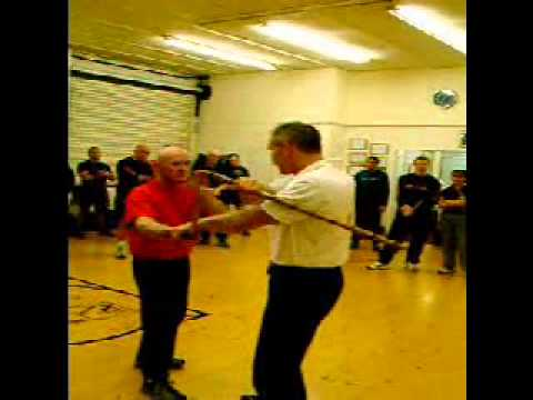 Rick Faye Kali Seminar at Mel Corrigan's Kali Group, Wigan, UK December 2003