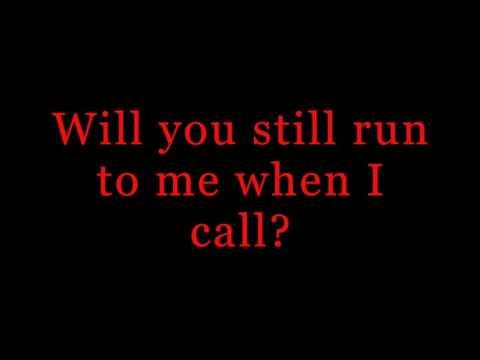 RED ~ If I Break ~ Lyrics
