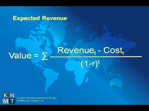 Patent Valuation Expected Revenue Model