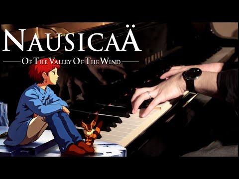 風の谷のナウシカ : Main Theme - Nausicaä of the Valley of the Wind - Piano Solo | Leiki Ueda