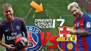 PSG vs Barcelona - Dream League Soccer 2017