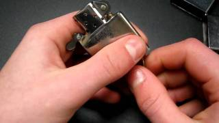 Zippo Repair: how to fix a stuck flint wheel