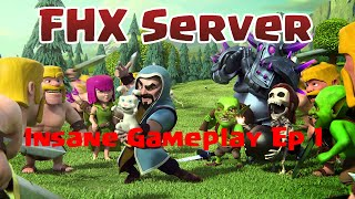 Clash Of Clans | Fhx Server | Episode 1- Upgrading to Town Hall 8 Rushed