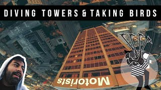 Diving Skyscrapers & Stealing a Bird Scooter