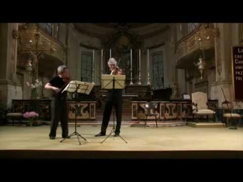W.A. Mozart - Duo per violino e viola K.424 _ Nai Yuan Hu, violino; Roger Chase, viola