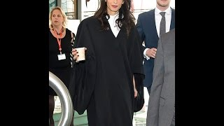 Amal Clooney to Teach at Columbia Law School in N.Y.C.