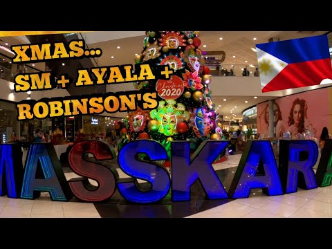 XMAS at the MALLS / Bacolod City Philippines