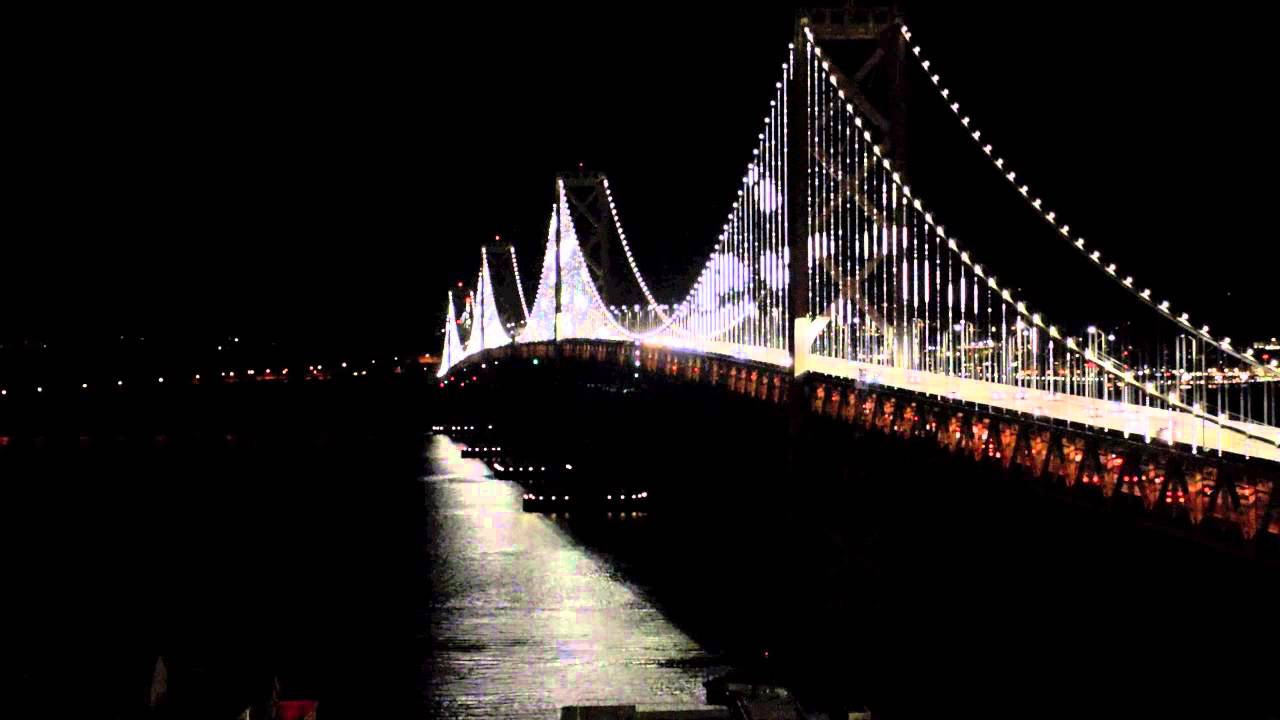 Bay Bridge Light Show - YouTube