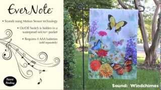 Evernote™ Garden Flag - 14EN2940 Butterfly Garden Thumbnail