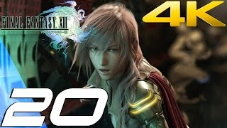 Final Fantasy XIII - Walkthrough Part 20 - Kalavinka Striker Boss [4K 60FPS]