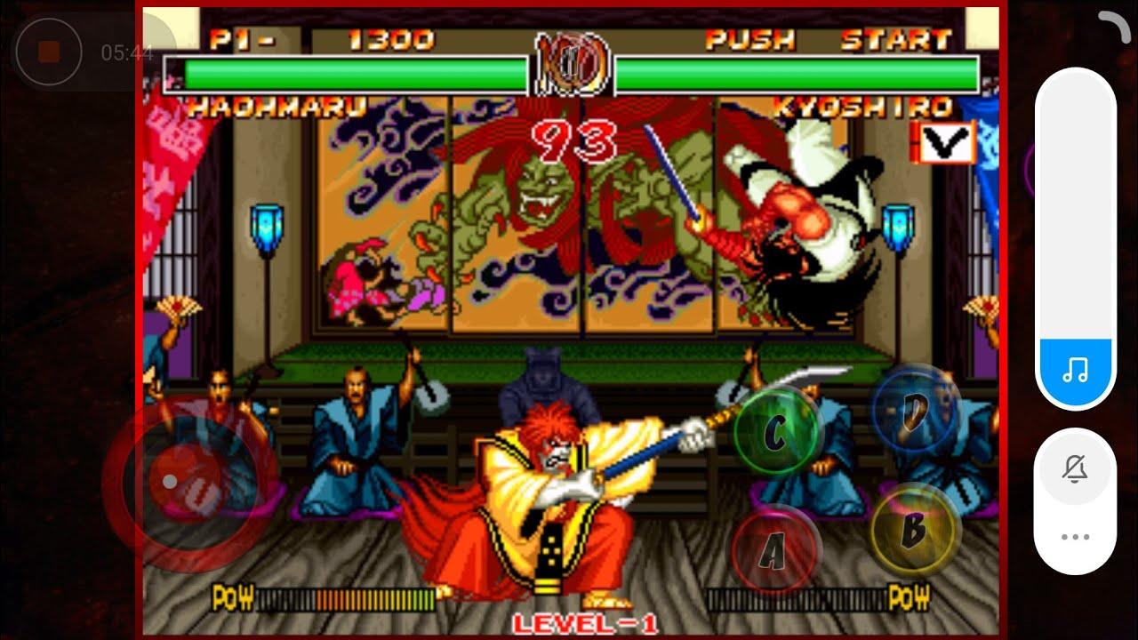 Hướng dẫn tải và cài Game Samurai Showdown 2 về Android phần1