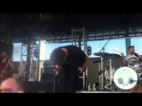 The Amity Affliction - Life Underground - Warped Tour Sydney 2013