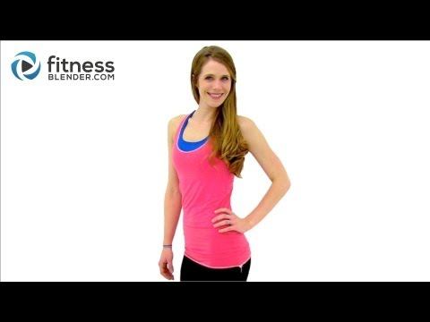 1000 Calorie Workout Video 84 Min HIIT Cardio, Total Body Strength Training + Abs, Fitness Blender