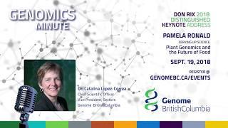 Genomics Minute- Announcement of the  2018 Don Rix Distinguished Keynote Speaker