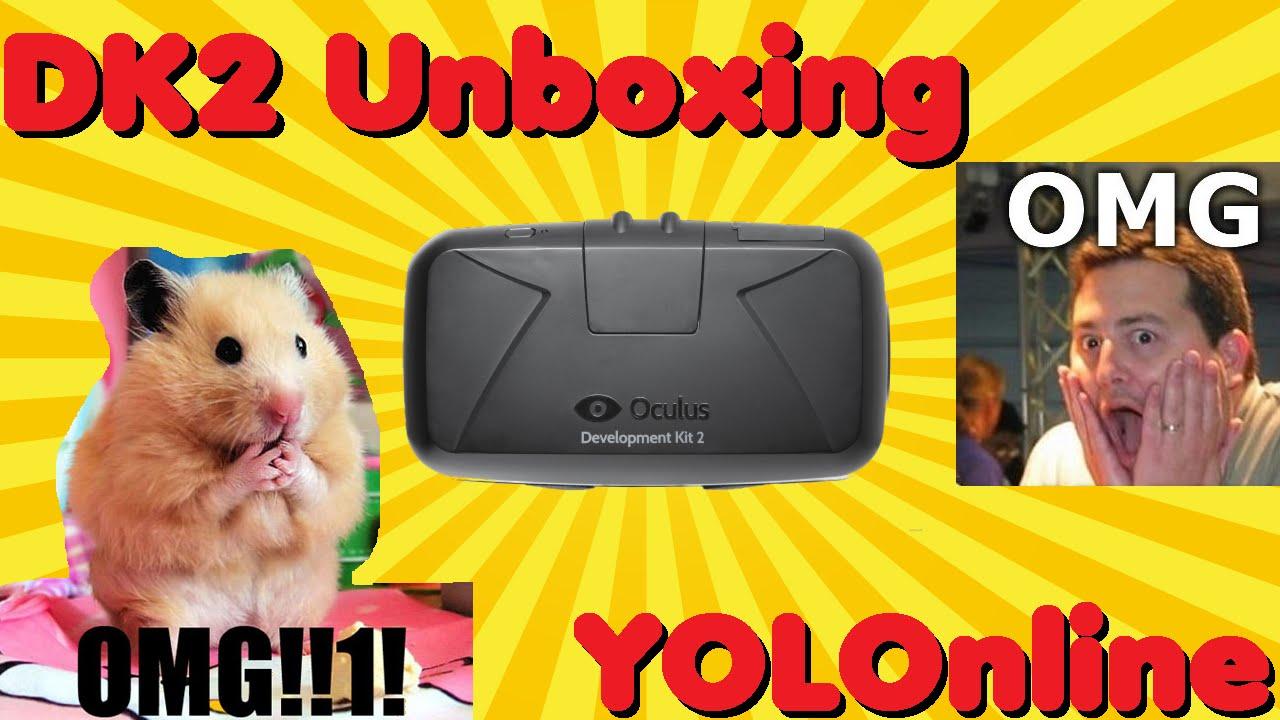 Oculus Rift DK2 Unboxing! - YouTube