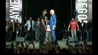 Mayweather vs McGregor World Tour: Toronto Faceoff