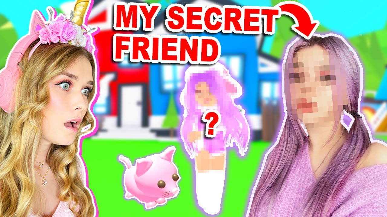 Download My *SECRET* FRIEND Plays Adopt Me For The FIRST TIME! (Roblox)