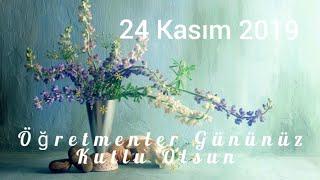 #24kasım #öğretmenlergünü #whatsapp Öğretmenler Günü Mesajı