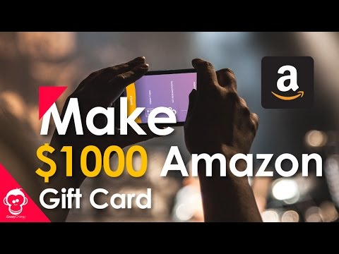 Make $1000 Amazon Gift Card With this App (2017)